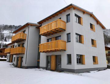 Pruggern, apartmanház generálkivitelezése – saját fejlesztés keretében