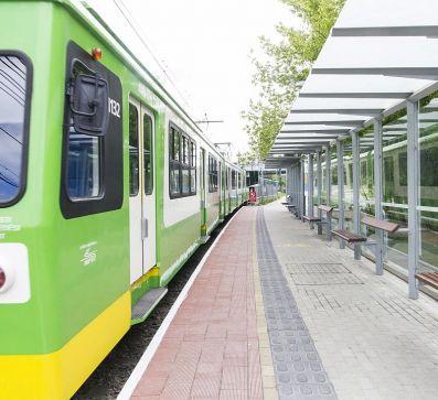 Relocation of the suburban rail way station Aquincum