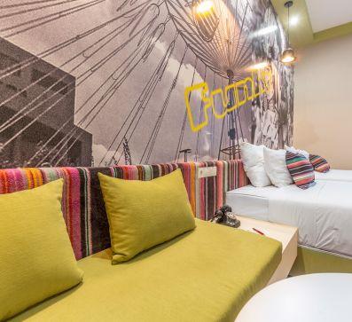Új szálloda kialakítása a belvárosban – V. kerület, Mérleg utca 4.