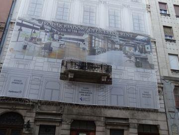 Belváros, V. kerület: Irányi utcai épület felújítása