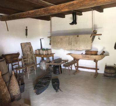 Wiederaufbau der Landhäuser des Skansen in Szentendre
