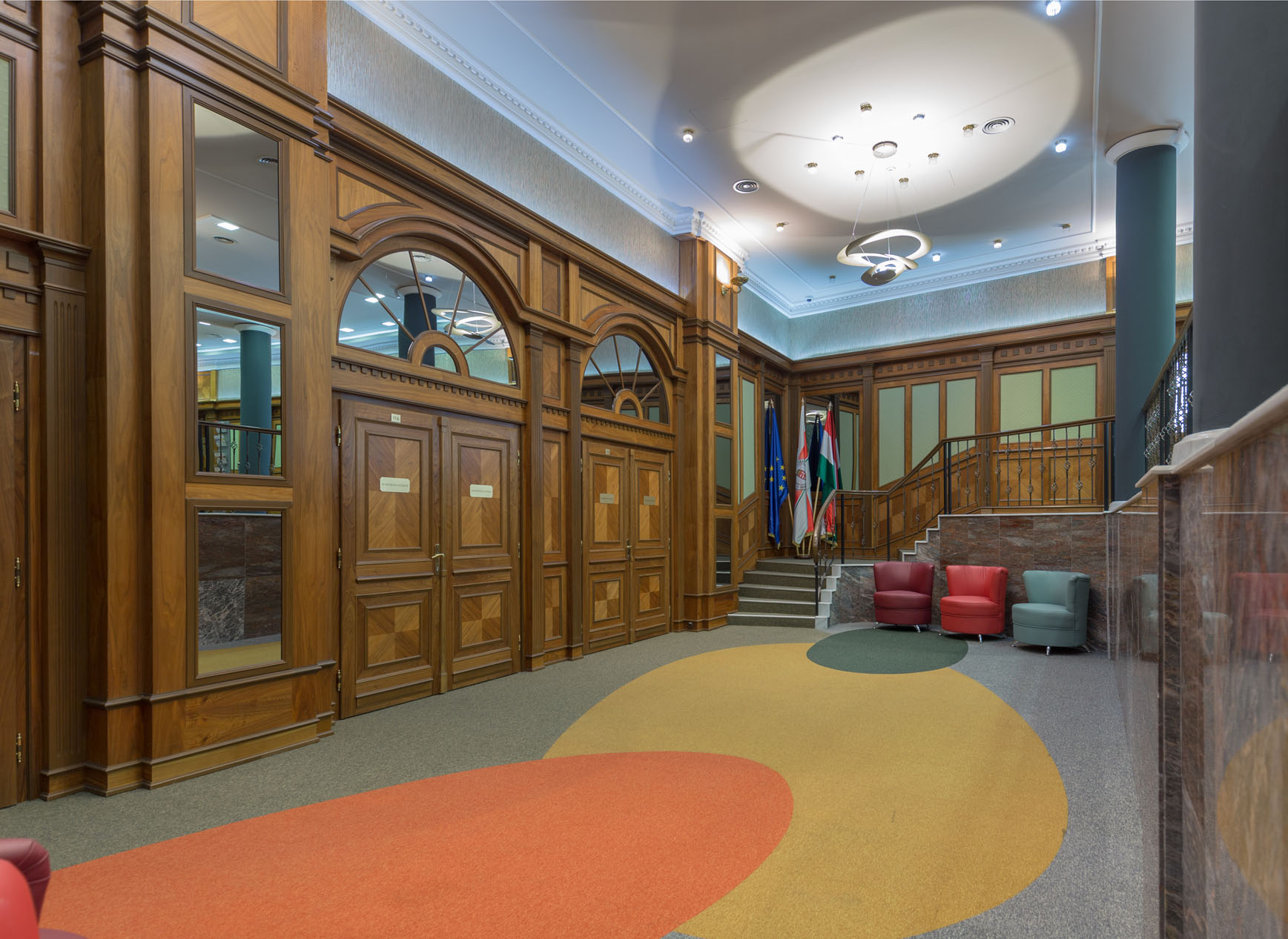 Vadász Irodaház felújítása, fit-out munkálatai