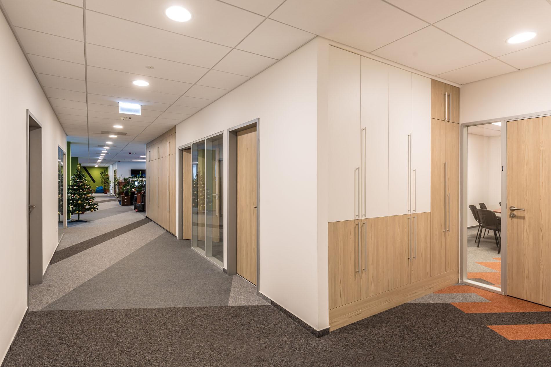 ECODOME Irodaház belsőépítészeti és fit-out munkálatai