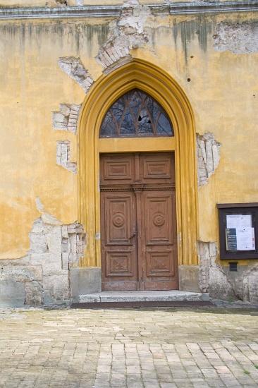 Nagykőrösi Református Templom műemléki épület magasépítési rekonstrukciója-régi bejárat