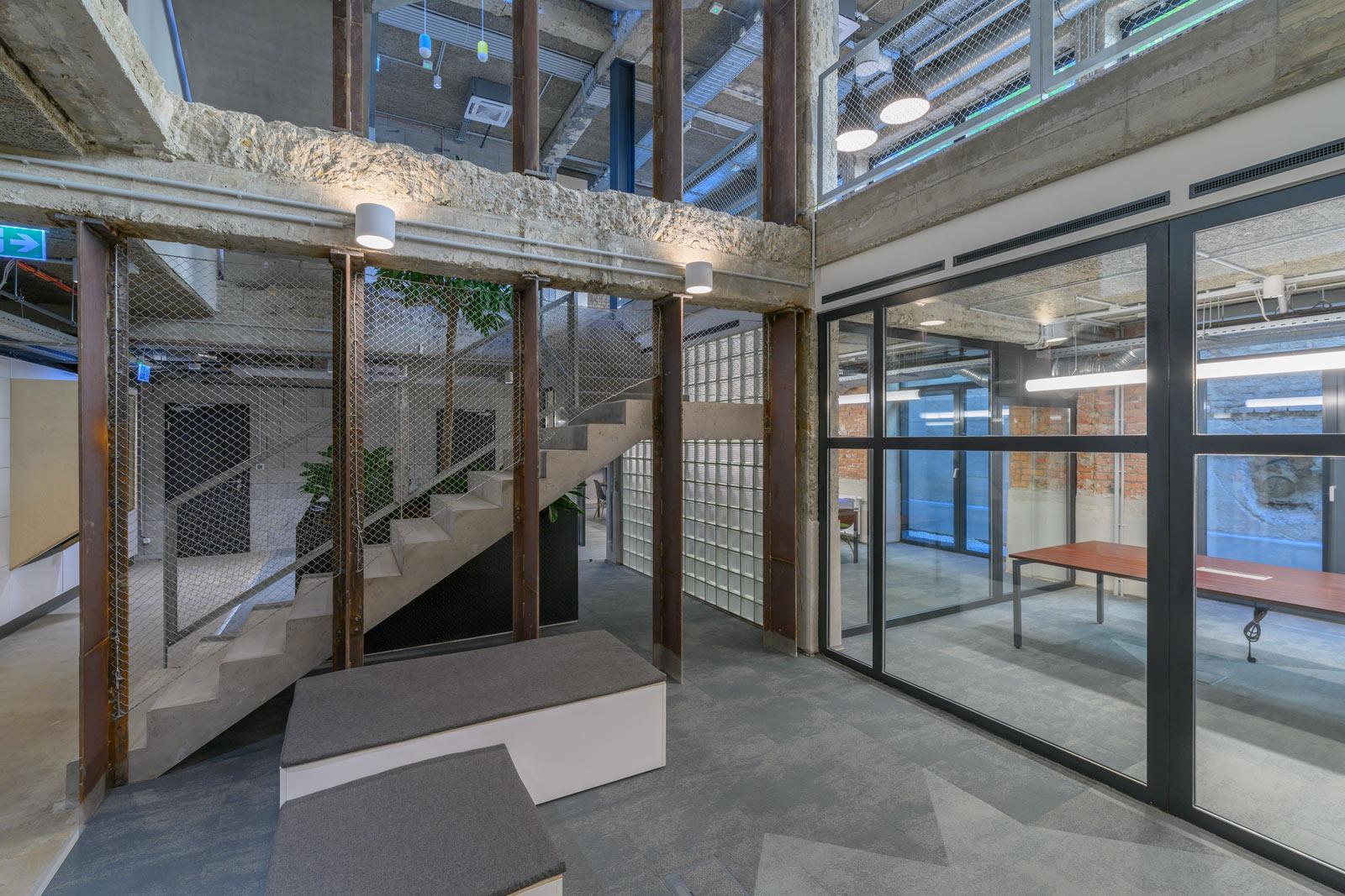 Bánáti-Hartvig Építész Iroda fit-out munkálatainak elvégzése