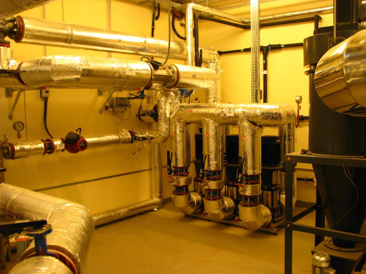 Gyömrő, Biomassza erőmű-fűtőmű komplex magasépítési kivitelezése