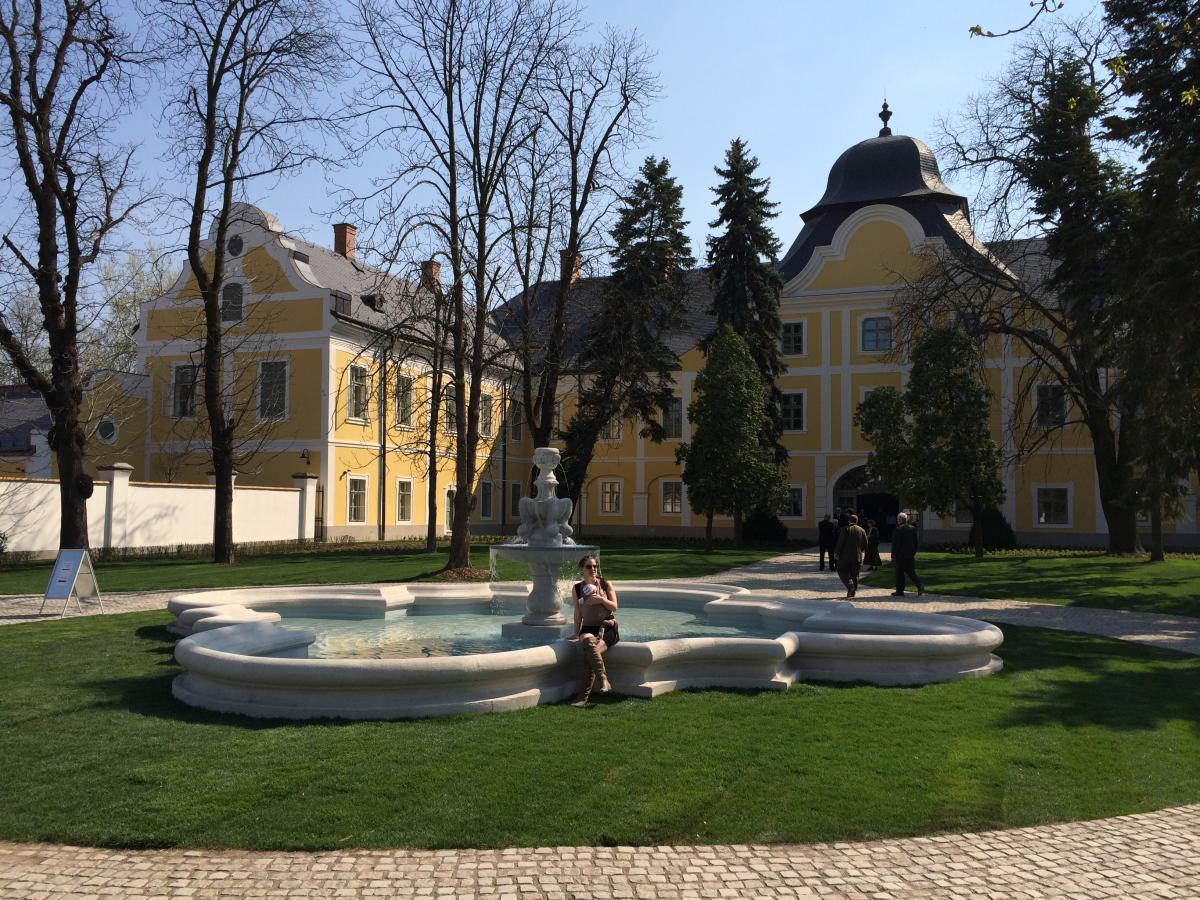 A hatvani Grassalkovich-kastély rekonstrukciója