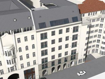 Két hotelprojekt a belvárosban – Mérleg utca 4-6.