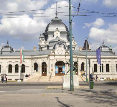 Eisbahn Városliget in Budapest