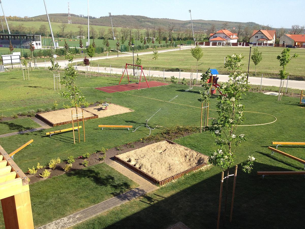 Új építésű óvoda generálkivitelezése Telkiben