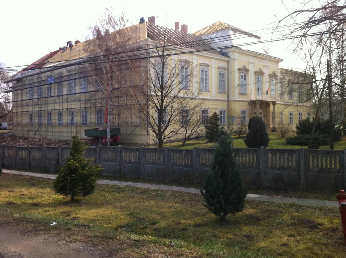 Vassurányban a Schilson-kastély felújítása